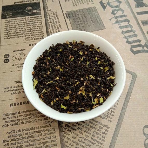 Грузинский чёрный чай с чабрецом
