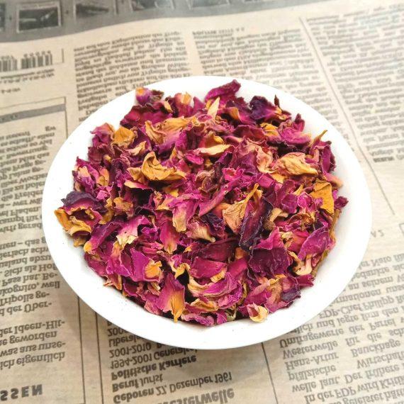 Сушеные лепестки розы - Мастер чай - mchai.ru