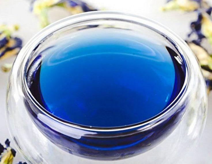 Анчан - синиий тайский чай