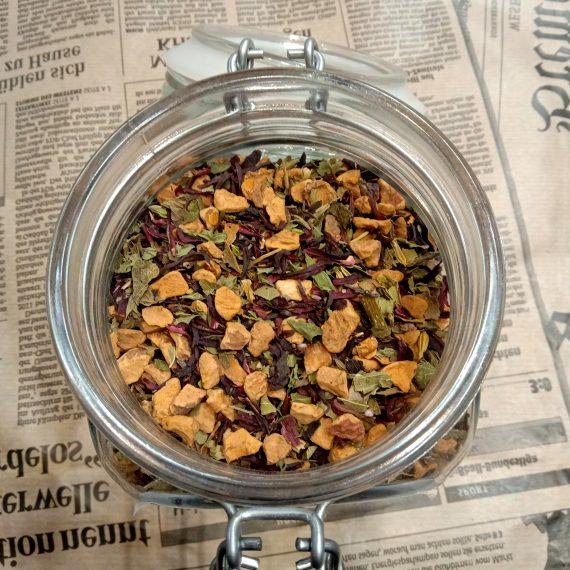 Успокаивающий фруктовый чай