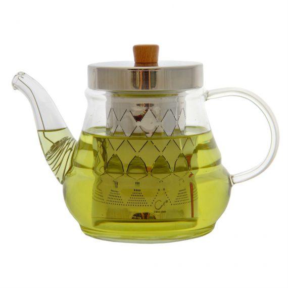Чайник заварочный стеклянный 055МС — 700ml