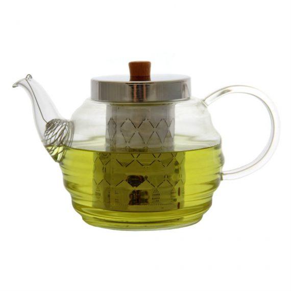 Чайник заварочный стеклянный 056LB — 1000ml