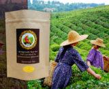 Грузинский чёрный скрученный чай в крафтовой упаковке (organic)